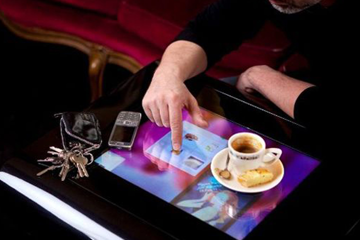 Touchscreen Cafe Table