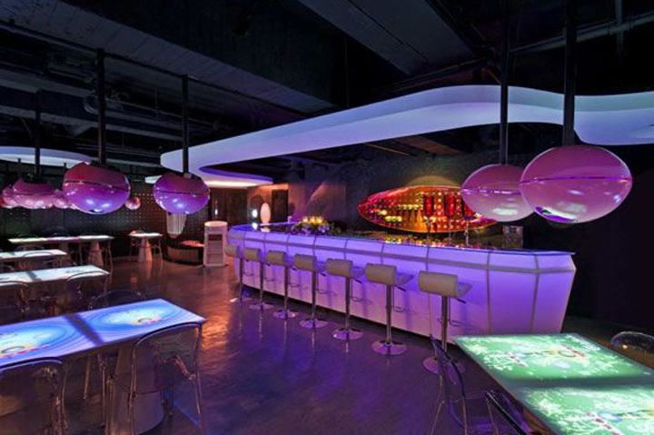 Nightclub Multitouch Tables
