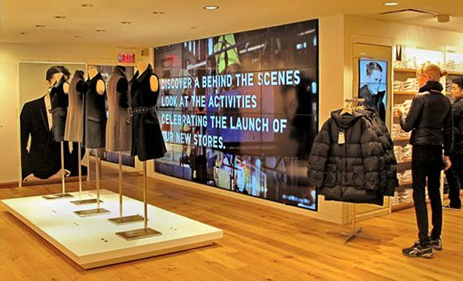 Retail Interactive Displays