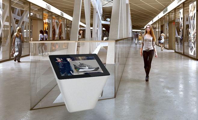 Pedestal Directory or Wayfinding Kiosk
