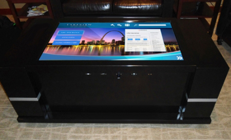 Multitouch Tables And Kiosks MTCT HD Black MultiTouch - Multitouch coffee table