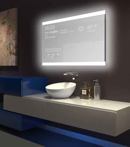 Multitouch tables and kiosks 97 tmm interactive touch for Interactive bathroom